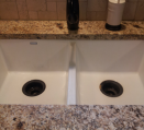 Septic system and garbage disposal