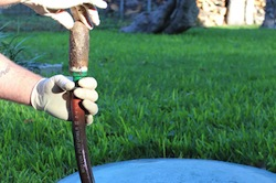 Shifting property lines requires new septic system