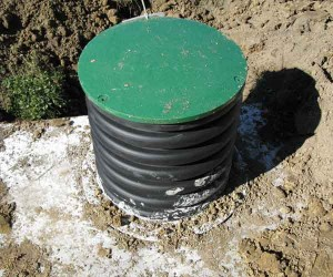 Septic system riser