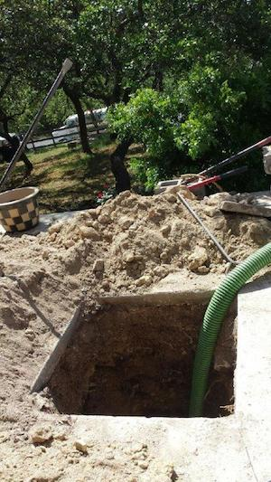 Septic inspection problem
