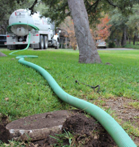 What to expect during a septic tank pumping