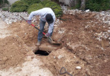 Septic inspection reveals tank hidden under driveway